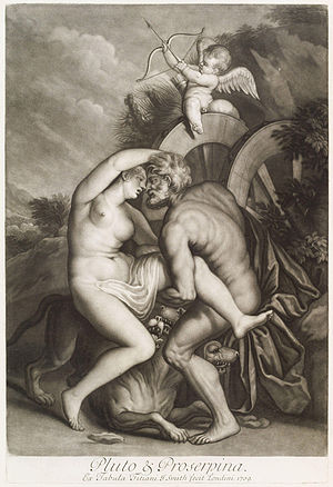John Smith (engraver, born 1652) - Loves of the Gods, after Titian