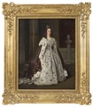 Lovisa, 1828-1871, drottning, gift medkung Karl XV (Carl Stefan Bennet) - Nationalmuseum - 39165.tif
