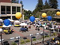 Lower Sproul Plaza during Cal Day 2009 1.JPG