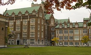 Concordia University - Concordia's Loyola Campus in the fall.