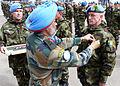 Lt Gen Singha & Pte Stephen McCabe, UNDOF Syria (13215909334).jpg
