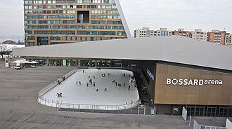 Bossard Arena - Image: Luftbild Bossard Arena 1 Skymotion.ch