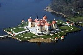 фото замок морицбург