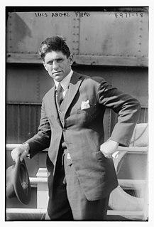 Luis Ángel Firpo Argentine boxer
