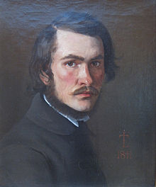 Lundbye, J Th (self-portrait 1841, Glyptoteket).jpg