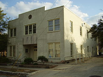 Texas Historical Commission - Luther Hall