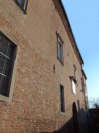 Caterina Pico - Luzzara, Palazzo della Macina