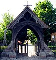 Lych Gate at St Michael and All Angel, Lambourn - geograph.org.uk - 25912.jpg