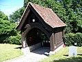 Lych gate, All Saints Church, Dibden - geograph.org.uk - 868124.jpg