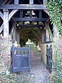 Lychgate close-up, Wilstone Cemetery - geograph.org.uk - 716794.jpg