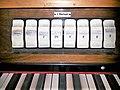 München-Obergiesing, Maria Königin des Friedens (Zeilhuber-Orgel, Notspieltisch) (6).jpg