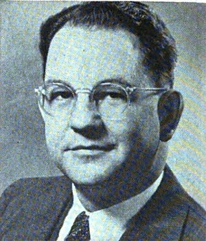 Maurice G. Burnside - From 1955's Pocket Congressional Directory of the Eighty-Fourth Congress.