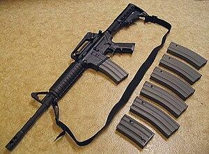 Bushmaster XM-15 - Bushmaster XM15-E2S M4 Style Carbine