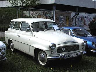 Škoda Octavia (1959–71) - Škoda Octavia Combi