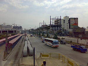 North Avenue MRT station - Image: MRT 3 Tracks North Avenue 1