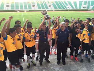 Ngor Royal Cup - Mahidol University Sport Science F.C., the 2016 Ngor Royal Cup winner.