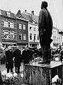 Maastricht, onthulling standbeeld P Regout, 1965.jpg