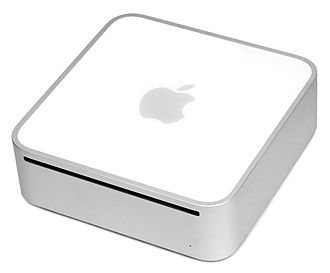 Mac Mini - The original Mac mini before the 2010 re-design