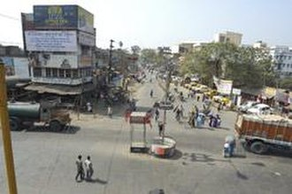 Madhyamgram - Madhyamgram Crossing (Chowmatha) on Jessore Road