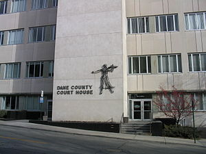 The Dane County Courthouse, 2004