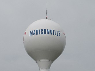 Madisonville, Texas - Madisonville water tower