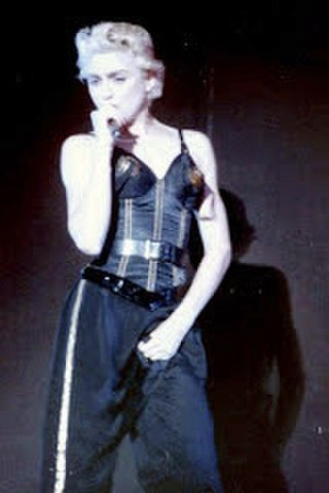 The Look of Love (Madonna song) - Madonna performing the song on the Who's That Girl World Tour, 1987