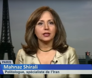 Mahnaz Shirali Iranian author and political sociologist