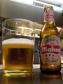 Mahou, in a Brussels tapas bar.jpg