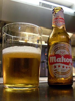 Mahou, in a Brussels tapas bar.jpg
