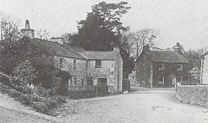 The Tale of the Pie and the Patty-Pan - Main street of Sawrey photographed by Potter's father in May 1913