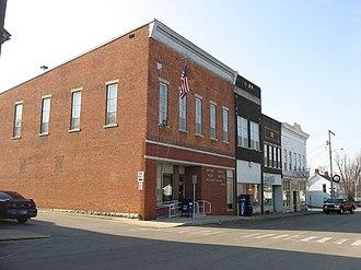 Westport, Indiana - Main Street
