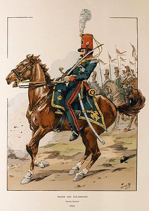 Éclaireurs of the Guard - Officer of the éclaireurs de la Garde