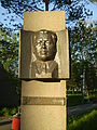 Makhmet Kairbayev, Hero of Soviet Union monument in Pavlodar' Alley of Glory, 2009.JPG