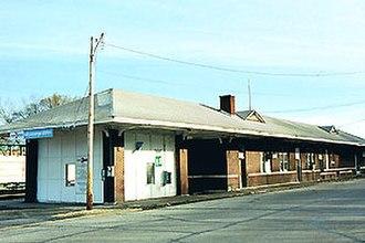 Malvern, Arkansas - The Amtrak station