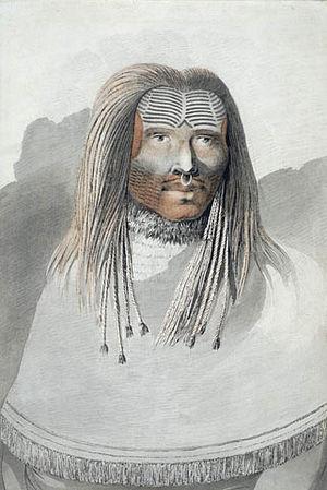 Nootka Sound - John Webber's Man of Nootka Sound