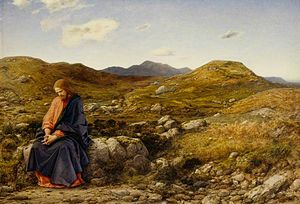 1860 in art - Image: Man of Sorrows, by William Dyce