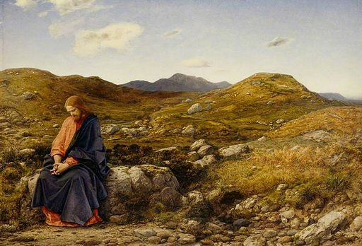Man of Sorrows, by William Dyce