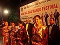 Mando festival underway in Goa.jpg