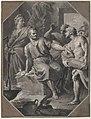 Manius Curius Dentatus Refusing the Presents of the Samnite Ambassadors MET 80.3.323.jpg