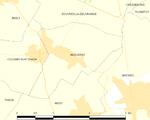 Map commune FR insee code 14014.png
