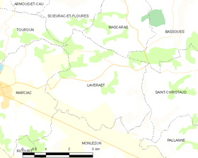 Map commune FR insee code 32205.png