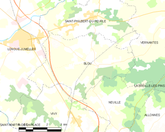Map commune FR insee code 49030.png