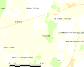 Map commune FR insee code 61498.png