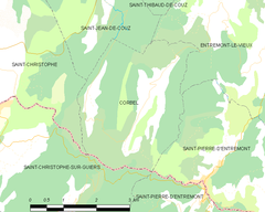 Map commune FR insee code 73092.png