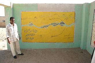 Dar al-Manasir - The local map of Dar al-Manasir in Shiri