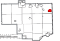 Map of Columbiana County Ohio Highlighting East Palestine Village.png