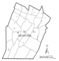 Map of Hopewell, Bedford County, Pennsylvania Highlighted.png