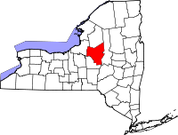 Map of New York highlighting Oneida County.svg