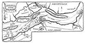 Fort Mifflin - Operations on the Delaware River, October–November, 1777