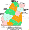 Map of Somerset County Pennsylvania School Districts.png